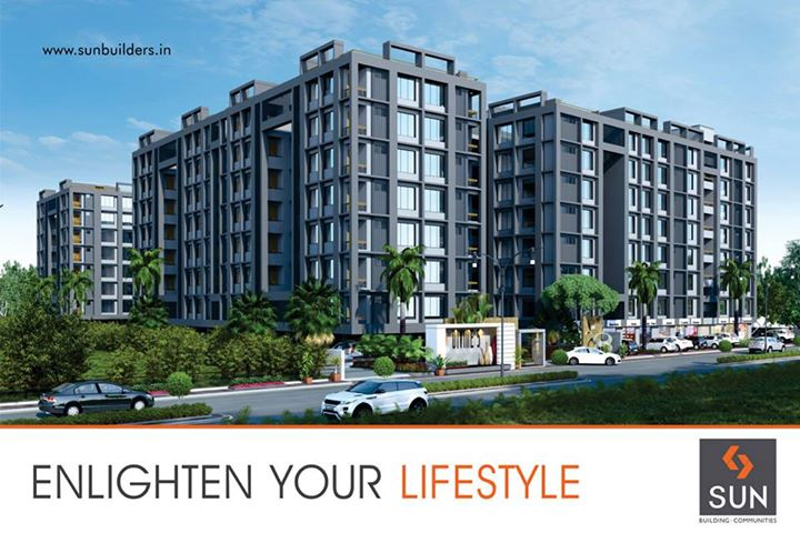 Soon you can experience a heavenly lifestyle at Ghatlodia with Sun Divine 5. To know more about our upcoming projects, visit - www.sunbuilders.in/upcoming_projects.html
