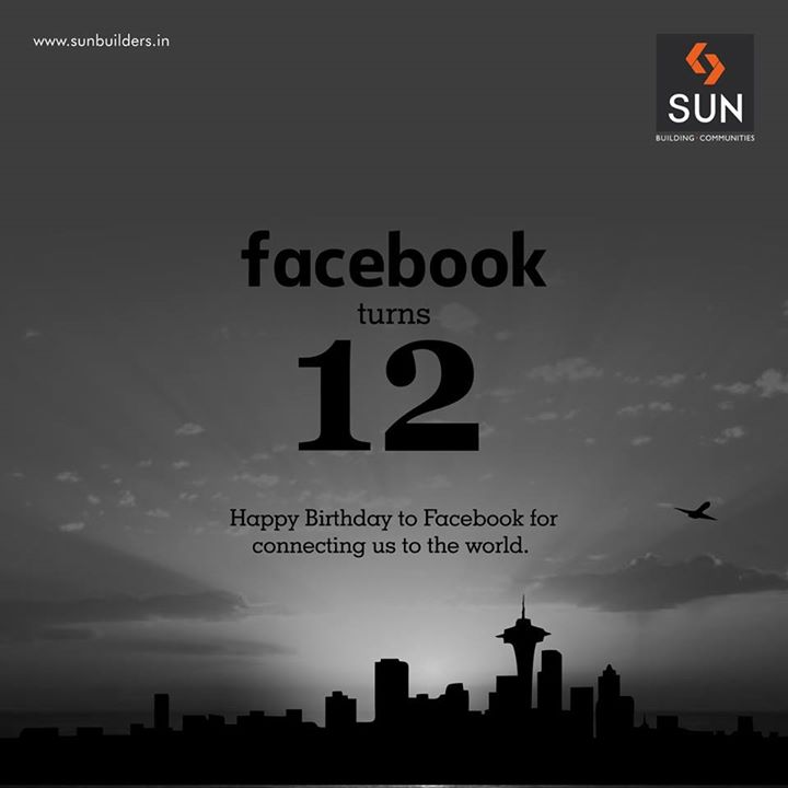 We wish Facebook a Happy 12th Birthday!