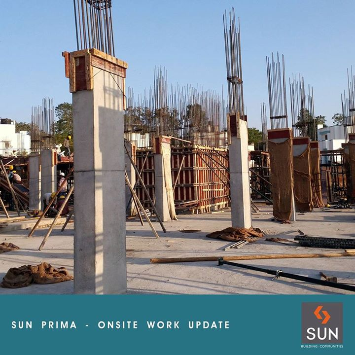 Sharing the construction progress at Sun Prima site at Manekbaug. For more information about the project, please visit - http://sunbuilders.in/Sun-Prima/