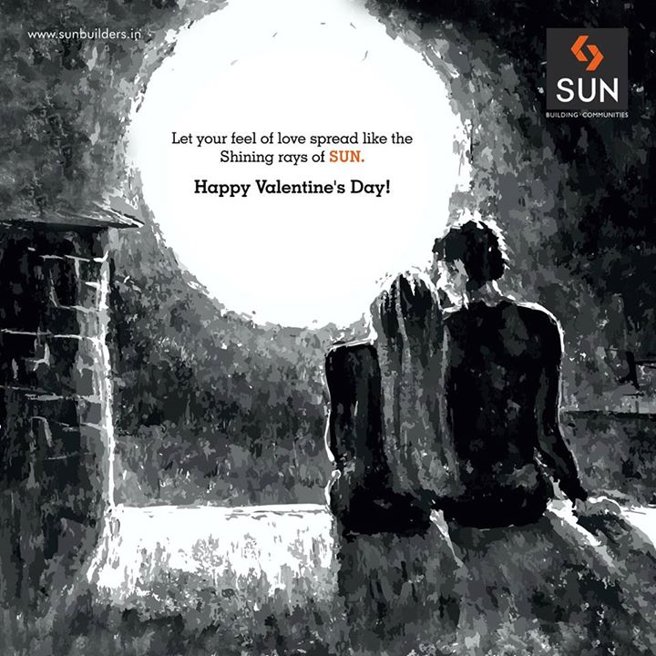 Sun Builders Group wishes you a Happy Valentine's Day!