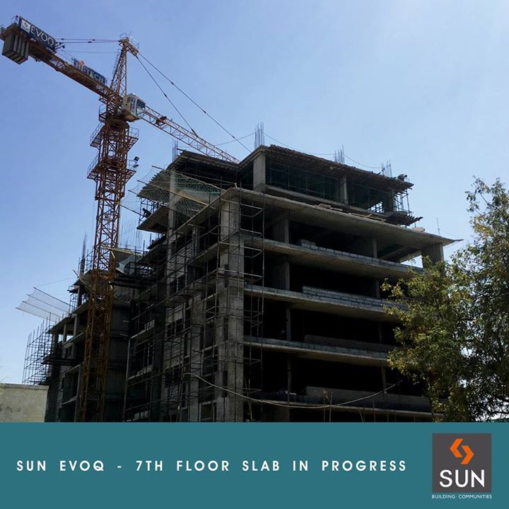 Witness the progress of the finesse & the luxurious place to live of Sun Evoq.