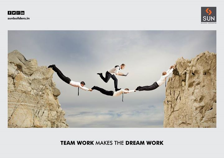 We at Sun Builders Group believe that great team is the sole formula for success.  Explore more at: http://www.sunbuilders.in/