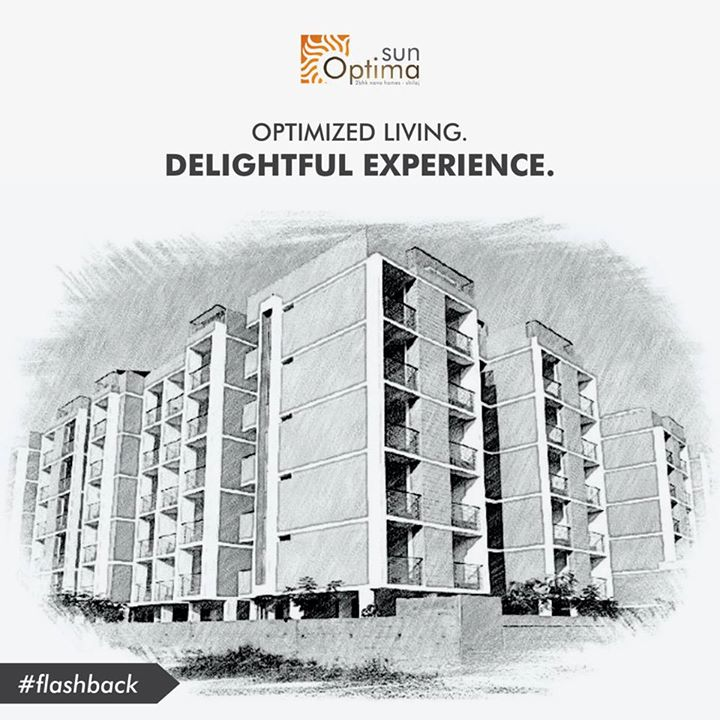 #flashback Have a glance at Sun Optima nano homes in the year 2014-15, making people experience the delight of life.