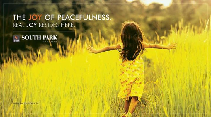 Experience true peace of life at Sun South Park.  Explore more at: http://sunbuilders.in/Sun-South-Park/