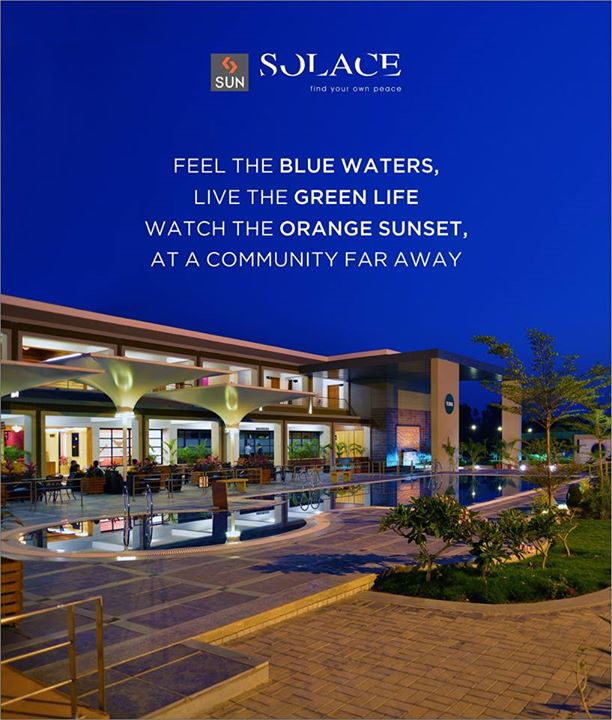 Experience the real beauty of divine colours only at Sun Solace.  Explore more at: http://sunbuilders.in/sun-solace/