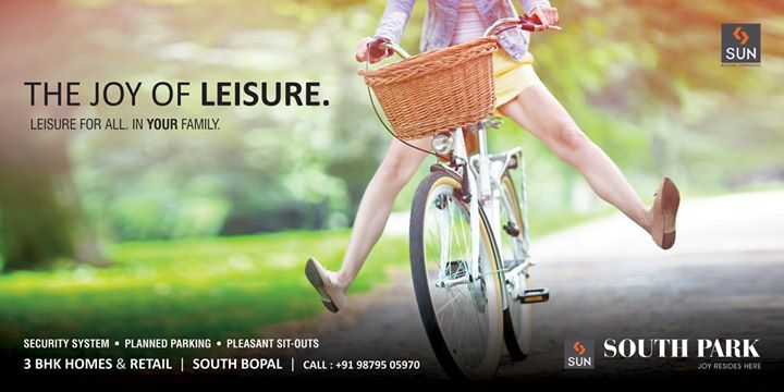 Enjoy your space in the expansive homes providing you room for luxury and leisure.   Explore more at http://sunbuilders.in/Sun-South-Park/