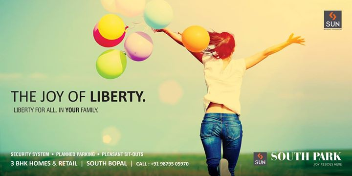 Where you have the liberty to laugh, share, express and experience - is your home. Explore the endless corners of joy and freedom with Sun Builders Group.   To know more visit us at: http://sunbuilders.in/Sun-South-Park/