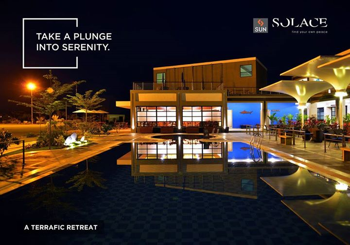 Hurl your worries and experience eminent quietude at Terra Clubhouse, Sun Solace.   Explore more at: http://sunbuilders.in/sun-solace/