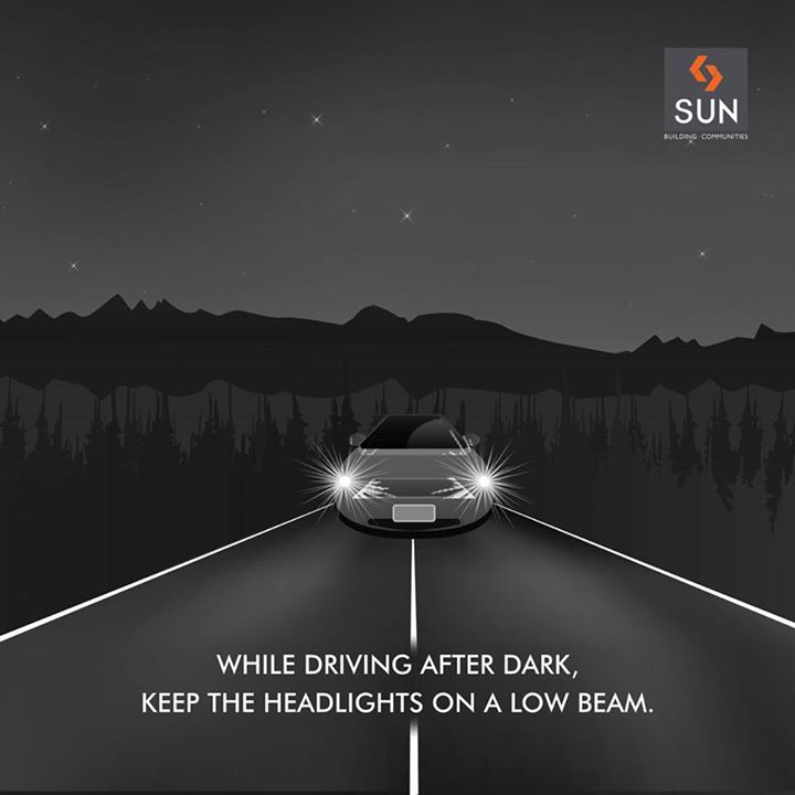 High beams are supposed to be used only in multi-laned highways without any chance of a driver  blinding others driving in the opposite direction. Also they can be applied on highways with no provision of streetlights.    While driving on well-lit city roads, avoid high beam.