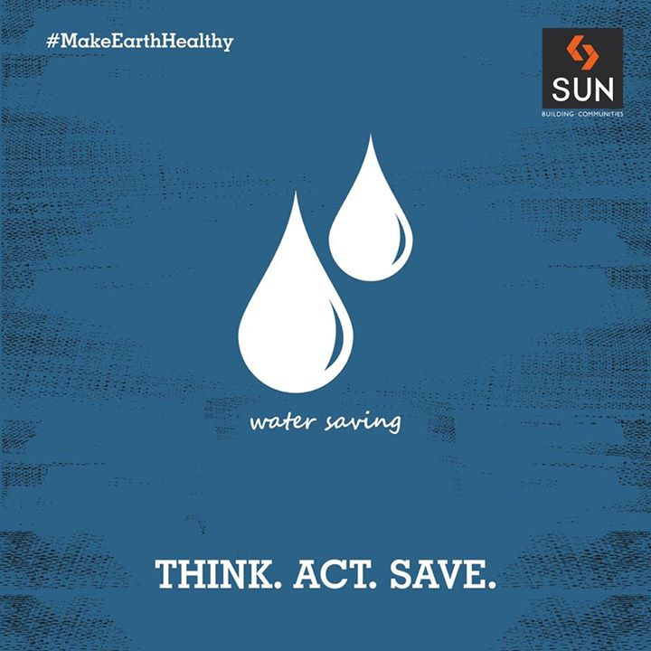 #MakeEarthHealthy Save water and get rewards in the future.