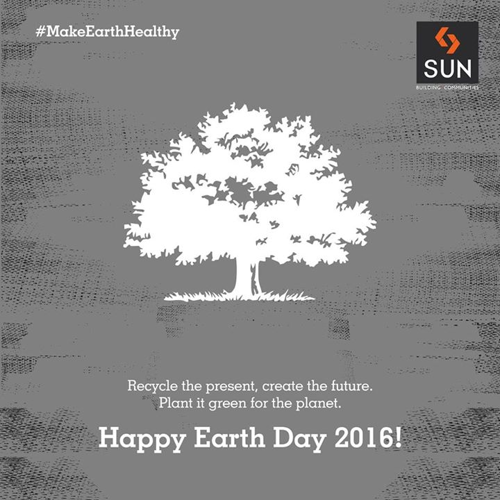 Let's step together with an aim to save the planet by planting more trees, saving water, recycling, and going carbon neutral this #EarthDay 's celebration.