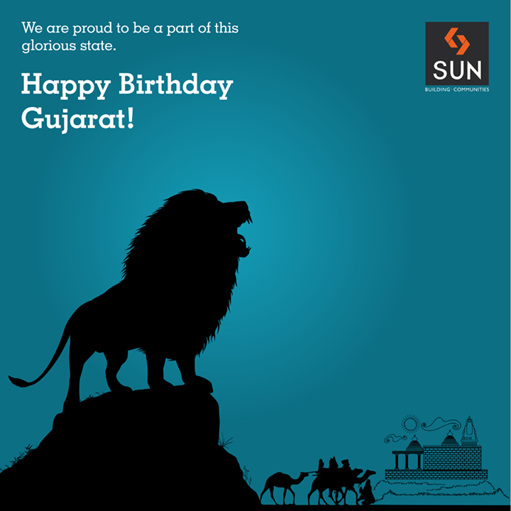 On the day. let's together pay tribute to the state that comprises of unmatched development and vast traditions.   Happy Birthday Gujarat!