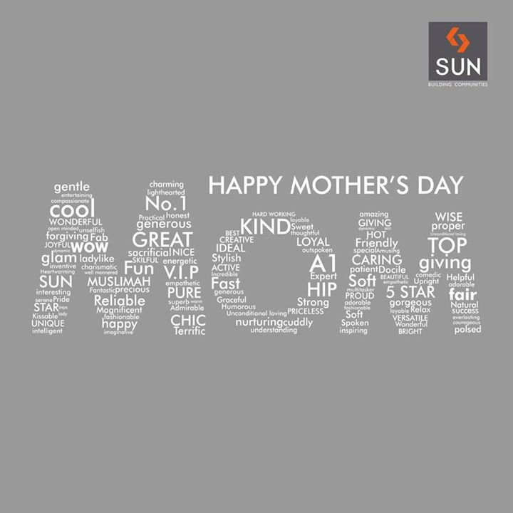 Happy #MothersDay to All Moms! We salute the spirit of #motherhood.