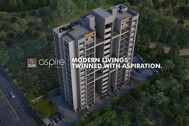 Sun Aspire is a project featuring 2.5bhk homes. It is the right abode to find your inspirational homes. Inquire at http://sunbuilders.in/Sun-Aspire/