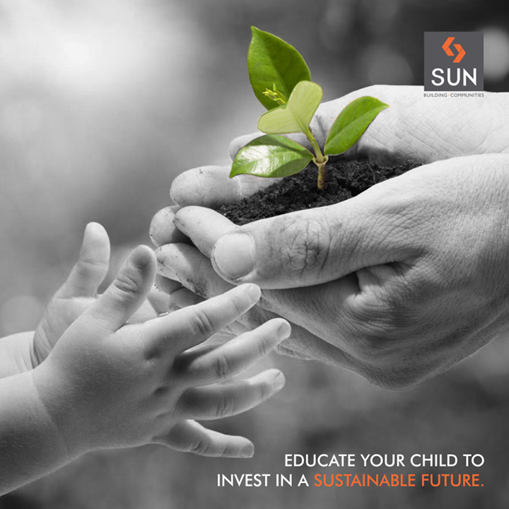 Teach your child to find wonders not in the screen of a smartphone, but in the beautiful vistas of nature. #csr #sustainability #gogreen #environment