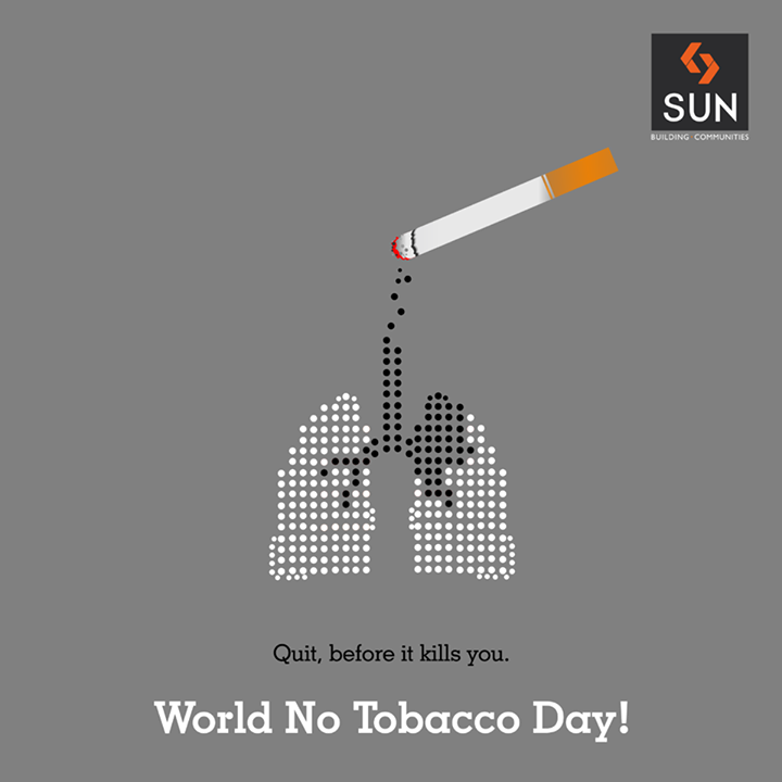 Together let's say no to tobacco and spread awareness on the risk of consuming it. Let's lay the foundation for a healthier world this #WorldNoTobaccoDay   #SayNoToTobacco #NoTobacco