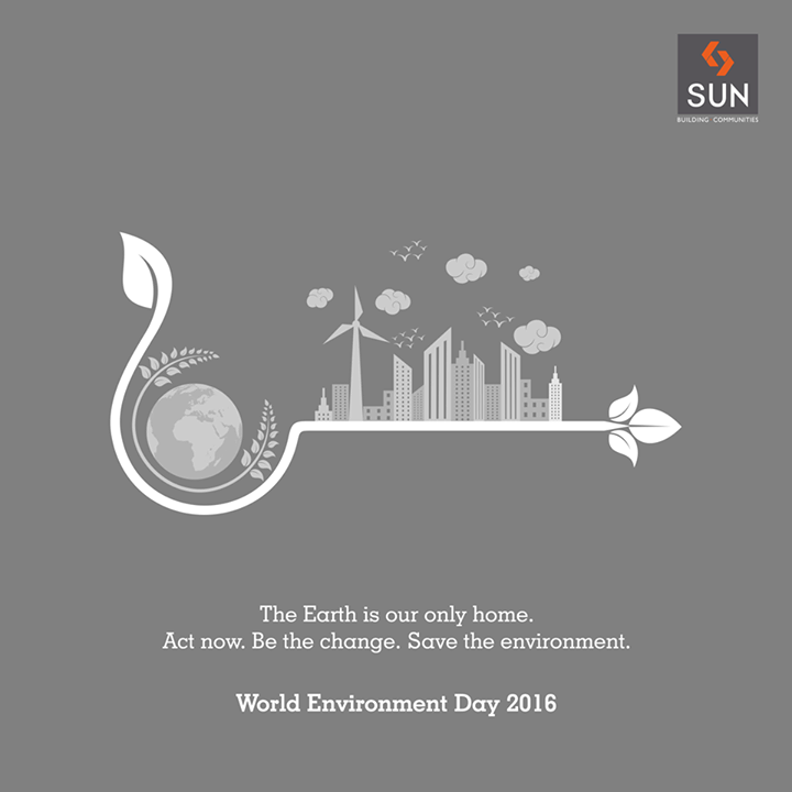 Let's stand together and spread the word to save the planet on #WorldEnvironmentDay 2016. #SaveEarth