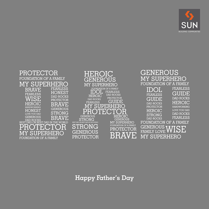 A father serves as a firm foundation of every child's life. #HappyFathersDay to all the proud fathers!