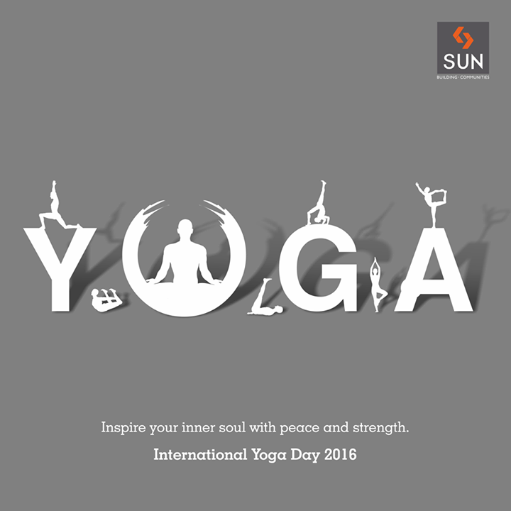Let your inner strength connect with your mind and soul on this #InternationalYogaDay.