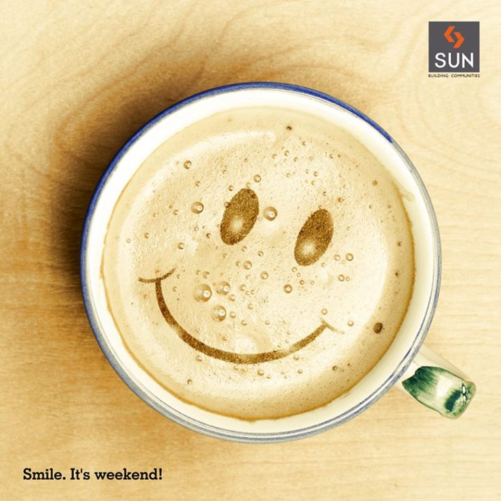 Weekend is the time to rejoice and spend your time doing everything you love.  #HappyWeekend #WeekendVibes #happiness