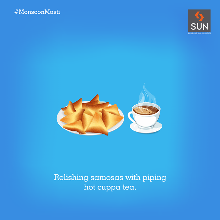 #MonsoonMasti The downpour never fails to bring out the foodie in us.