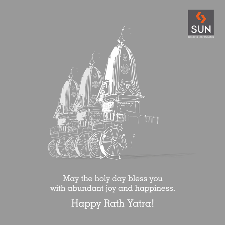 Celebrating the festival with joy and happiness.  Happy #RathYatra to everyone!