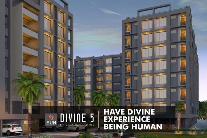 #SunDivine5 – An abode where you can experience a divine pleasure accompanied by serene environs.  Explore more at http://sunbuilders.in/Sun-Divine5/  #realestate #divinehomes #AhmedabadHomes