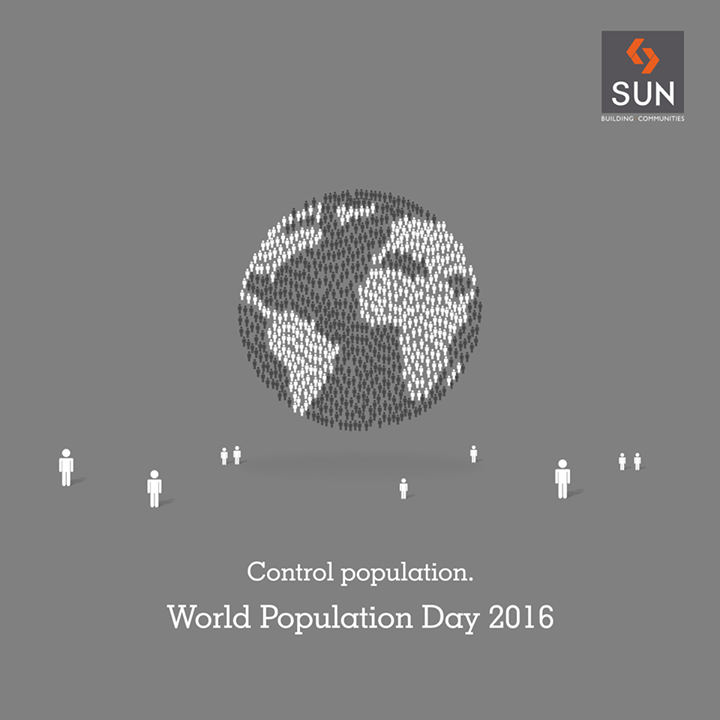 Together let's support the cause and spread the word to people to control population for a better tomorrow on #WorldPopulationDay2016.