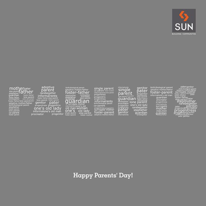 Sun Builders,  ParentsDay, happy, life