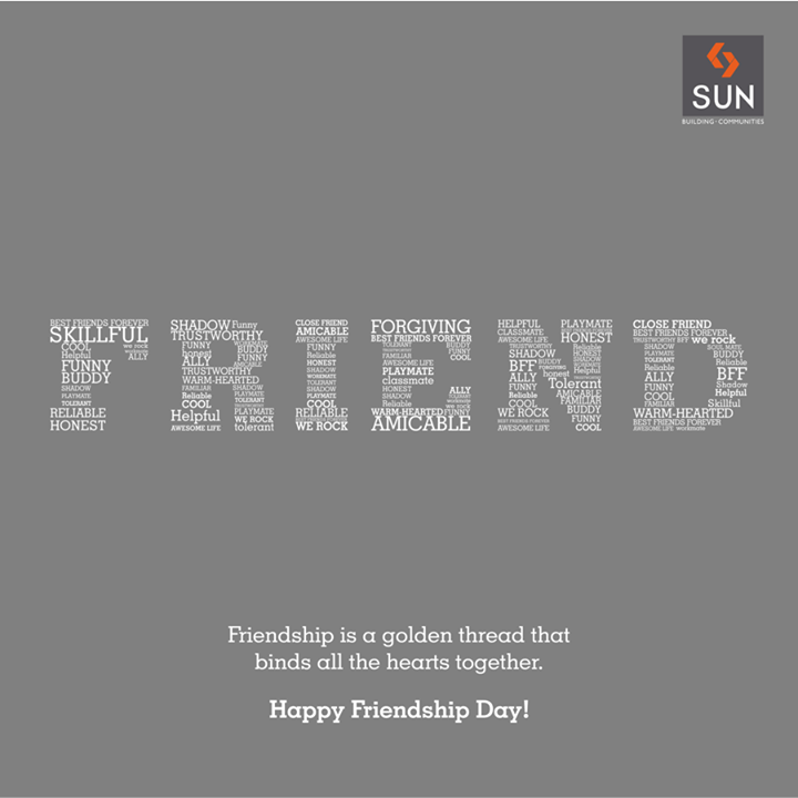 The hearts of friends are connected with the threads of love and trust. Happy Friendship Day!  #HappyFriendshipDay #Hearts #Love