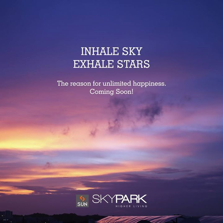 #SunSkyPark is coming soon with your beautiful tomorrow, that guarantees utmost happiness with its breathtaking amenities.  #UpcomingProject #realestate #residential #ahmedabad