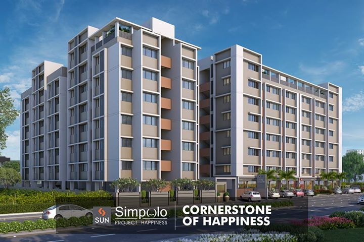 #SunSimpolo - Unlock the doors of your awaiting comfort and happiness.  Explore more at: http://sunbuilders.in/Sun-Simpolo/   #realestate #happiness #AhmedabadHomes