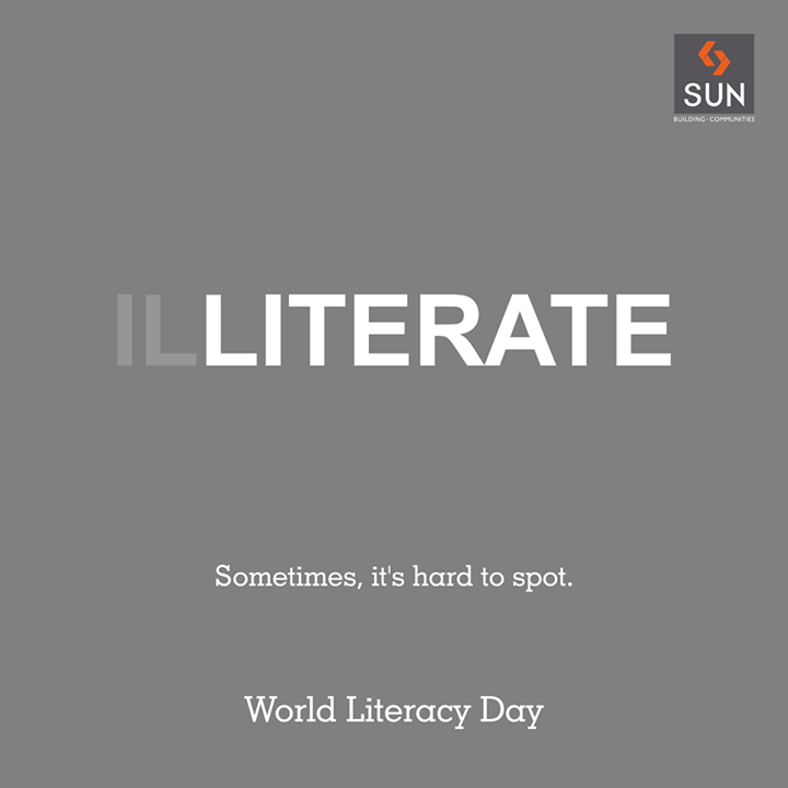 Together, let's pledge to eradicate illiteracy and impart education, to brighten up children's future.   #WorldLiteracyDay #Education #illiteracy #Future