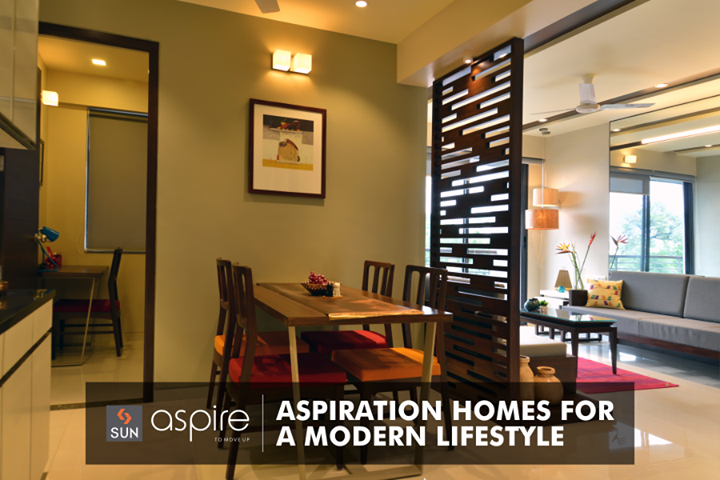 #SunAspire - 2.5 BHK residences that aspire you to live more with modern lifestyle demands.  Explore more at http://sunbuilders.in/Sun-Aspire/ #AspirationalHomes #SunBuildersGroup #RealEstate #Lifestyle