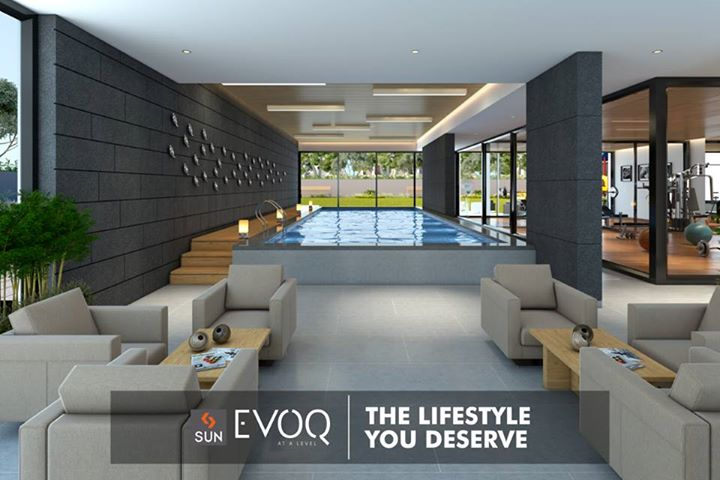 Uber-size homes offering upscale amenities that wrap you in the sheer comfort completely, at #SunEVOQ. Explore more: http://sunbuilders.in/Sun-Evoq/ #Lifestyle #Interiors #SunBuildersGroup #Comfort