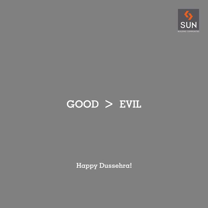 Celebrate the victory of the forces of good over evil. Let's celebrate an auspicious day to begin new things in life by killing our inner evils. #HappyDussehra!