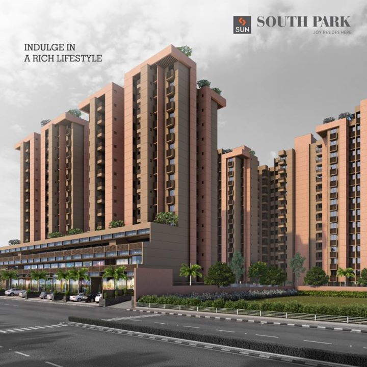 South Park is a one-step solution for all your lifestyle needs. It offers the joy of luxury, space, fun, comfort and above all, trust. For more details, visit: http://sunbuilders.in/Sun-South-Park/#  #Sun #SouthPark #Lifestyle #Luxury