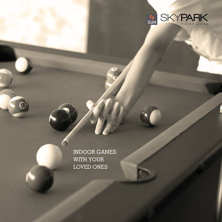 Stay Indoor and spend time with your loved ones. Be it a lazy Sunday or any night after your office hours, play away the worries and relax. Fun can be acquired even when staying in.  #SunSkyPark