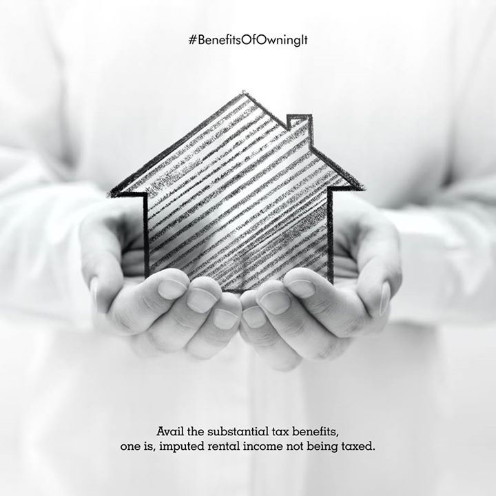 Home ownership is a great investment. Invest today for long-term returns and significant savings. #BenefitsOfOwningIt #Sunbuilders #TaxBenefits #GrabTheChance
