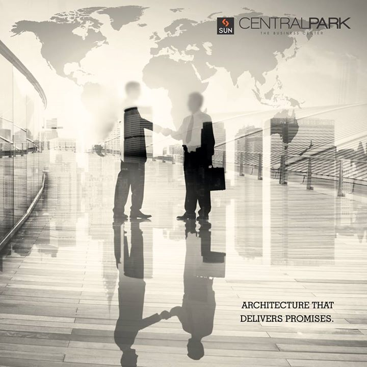 Your corporate dreams will definitely turn into a masterpiece. #SunCentralpark will make that happen.  Book your corporate space at https://goo.gl/clxXlx #Sunbuilders #RealEstate #Commercial
