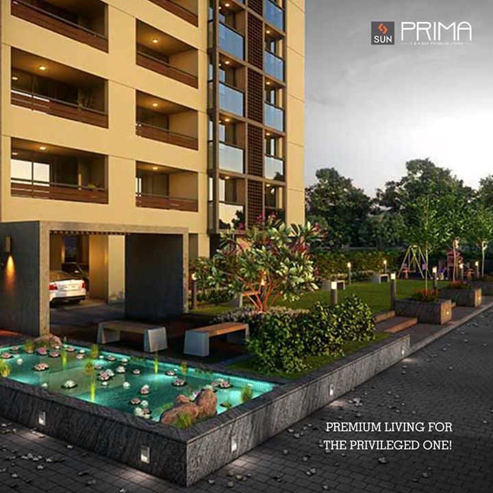 Empowered by innovation, #SunPrima will leave you spellbound with its charisma.   #RealEstate  #PremiumLiving #grandeur   Explore more at http://sunbuilders.in/Sun-Prima/#