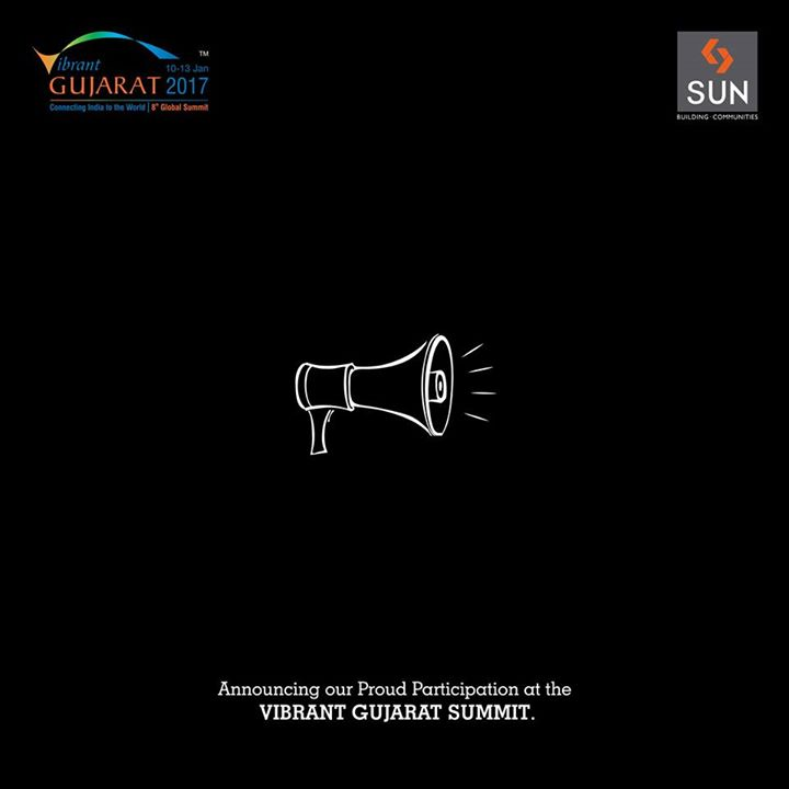 The most progressive event of our state, The Vibrant Gujarat Summit 2017, is round the corner. Here's announcing our association with it. Do visit our stall to know more about us. Can't wait to be a part of the summit.  #Sun #VibrantGujarat