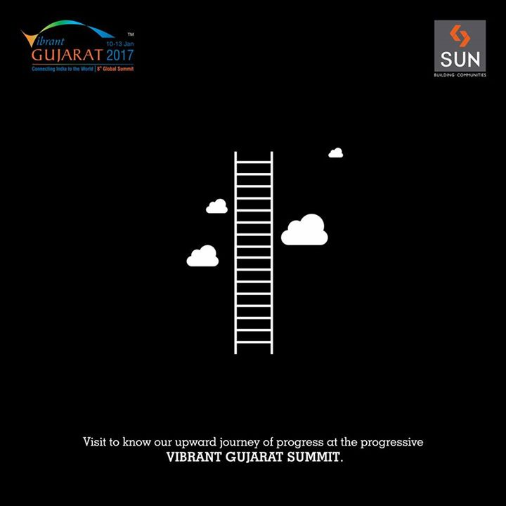 We are all set to enter into the most important international business events of our state - Vibrant Gujarat Global Summit 2017. Are you ready to join us? Visit our stall no. 5.25 B and know more about our remarkable journey.  #SunBuilders #VibrantGujarat #ProudParticipation