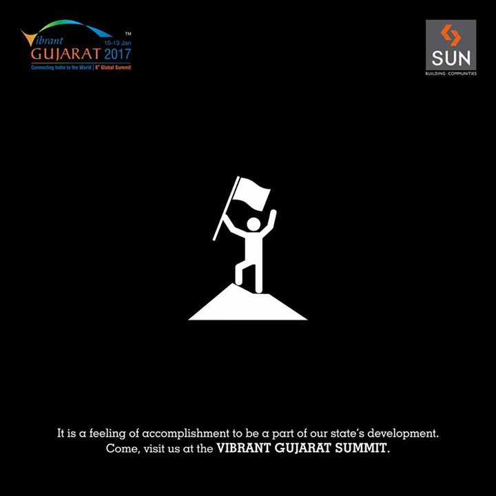 Feel accomplished by participating in the success and development of Gujarat. Visit #VibrantGujaratSummit