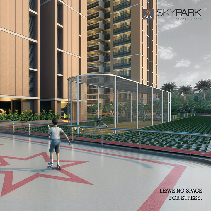 Layered with amenities like sports area, #Skypark has space only for your happiness and not stress.  For more details visit http://sunbuilders.in/sales_enquiry.html#    #Sunbuilders #realestate #happyleisuretimes #enjoyment