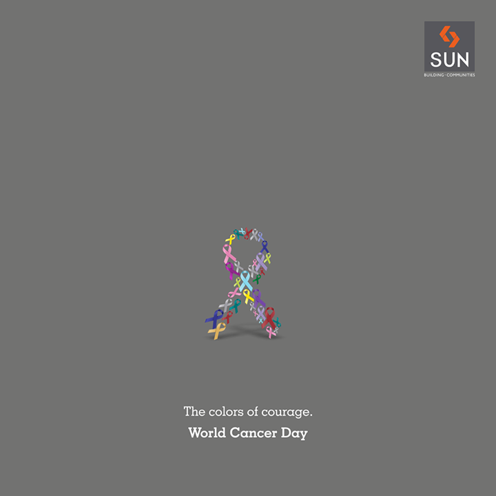 Sun Builders,  WorldCancerDay, BeBrave, YouCan, FightCancer