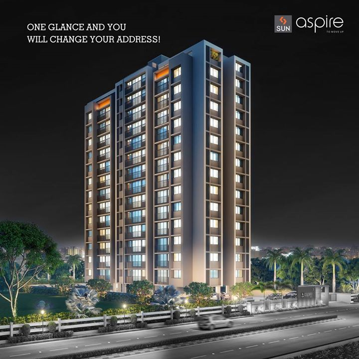 14 storey high aspirational homes that will fulfill the checklist of your dream home. Change your address to #SunAspire.   Visit http://sunbuilders.in/Sun-Aspire/# now.  #Sunbuilders #realestate #Aspire