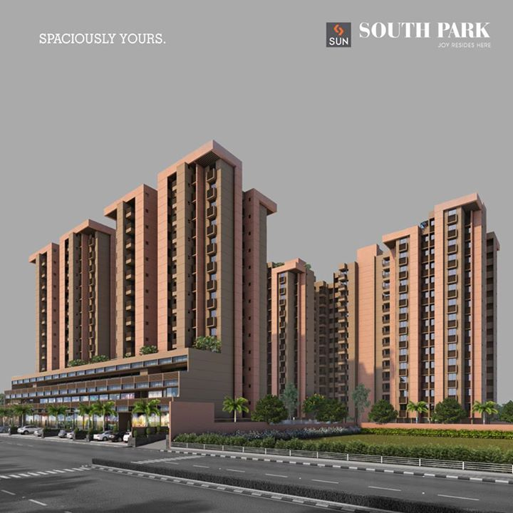 Get blessed with the joy of space, comfort and fun, with sincere trust, by owning a home at Sun SouthPark.   For more details, please visit, goo.gl/bXFI8C.  #SunSouthpark #Sunbuilders #realestate #ahmedabadhomes #joy
