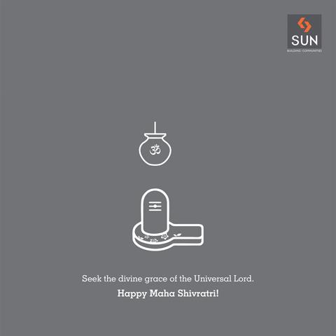May the pious occasion of Maha Shivratri grant peace & prosperity to the entire mankind. #Sunbuilders wish you a happy and blessed #Mahashivratri!