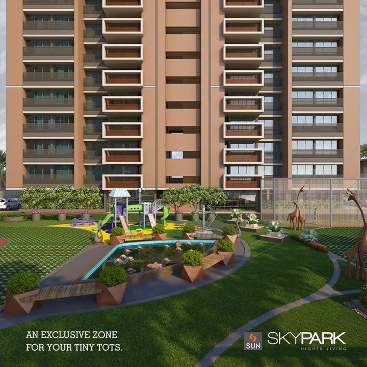 Sun Builders,  Sunbuilders, Skypark, realestate, luxuryhomes, children, playarea